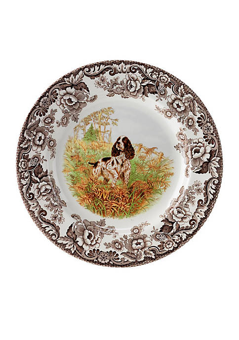 Spode Woodland English Springer Spaniel Salad