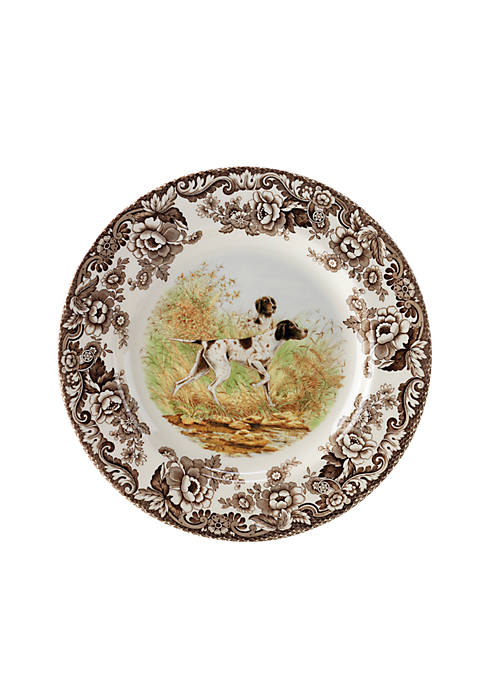 Spode Woodland Flat Coated Pointer Salad