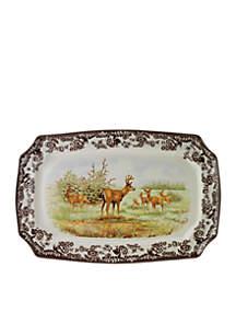 Woodland Deer Platter