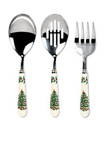 Christmas Tree 3-Piece Serving Set