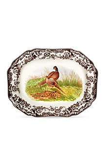 Woodland Pheasant Octogonal Platter