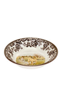 Woodland Yellow Lab Cereal Bowl
