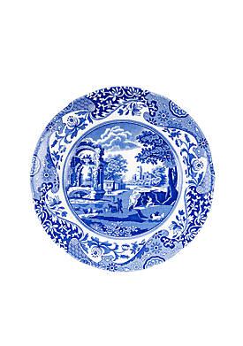 Blue Italian Salad Plate