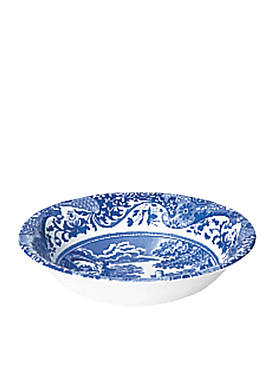 Blue Italian Cereal Bowl