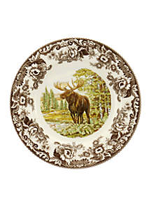 Spode Woodland Moose Dinner Plate