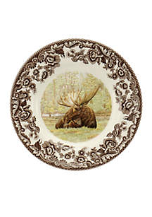 Woodland Moose Bread & Butter Plate