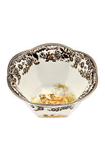 Woodland Golden Retriever Nut Bowl