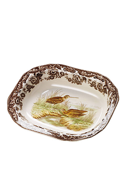 Spode Woodland Snipe Open Vegetable Bowl