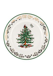 Christmas Tree Gold Dinnerware