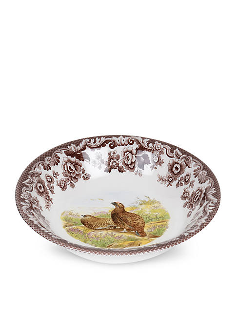 Ascot Cereal Bowl - Red Grouse