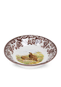 Spode Ascot Cereal Bowl - Red Grouse