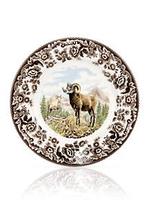 Woodland Bighorn Sheep Salad Plate