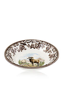 Woodland Bighorn Sheep Ascot Cereal Bowl