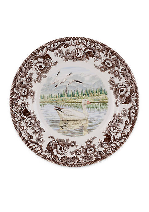 Snow Goose Dinner Plate