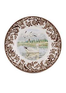 Spode Salad Plate - Snow Goose