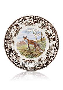 Spode Woodland Red Fox Dinner Plate