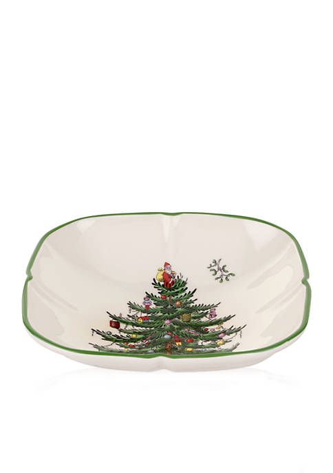 Spode Sculpted Square Dish
