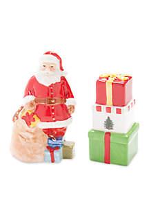 Christmas Tree Santa Salt and Pepper Set