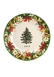 2018 annual collector plate - Decorative Christmas Plates