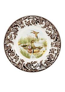 Spode Woodland Duck Dinner Plate
