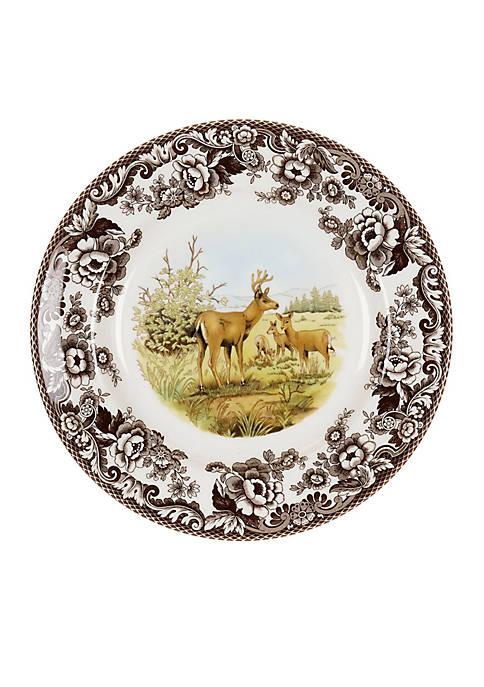 Mule Deer Dinner Plate