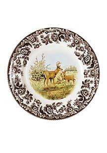 Woodland Mule Deer Salad Plate