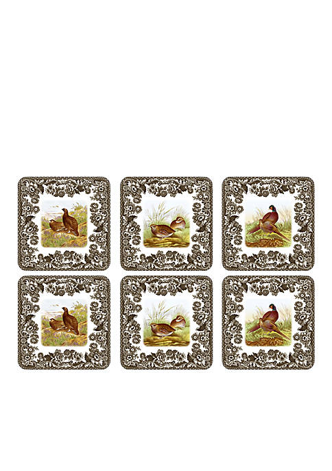 Spode Woodland Set of 6 Coasters