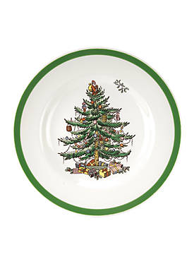 Christmas Tree Bread and Butter Plate - 6-in.