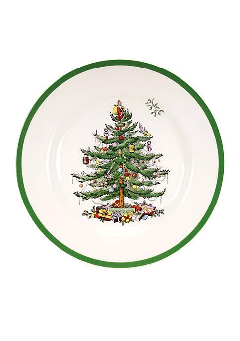 Christmas Tree Dinner Plate - 10.5-in.