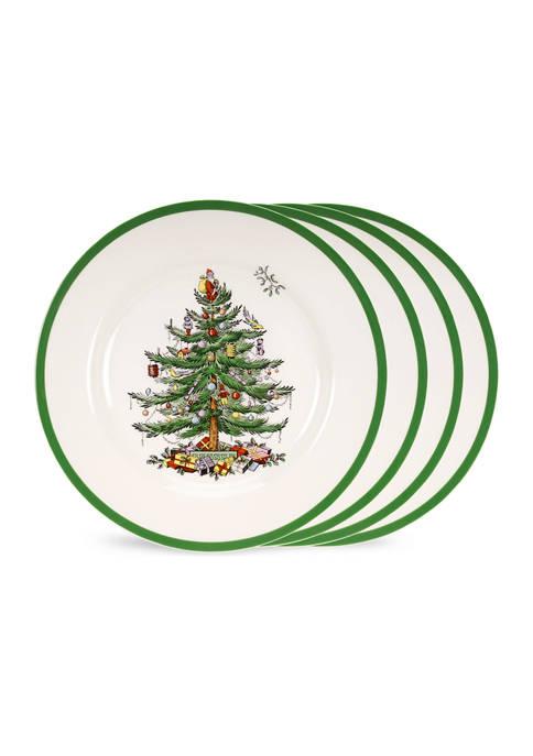 Spode Christmas Tree Dinner Plate - Set of 4 | belkClose Modal