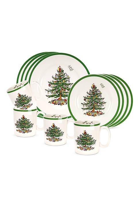 Spode Christmas Tree 12-Piece Set