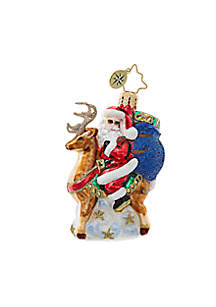 Love My Ride Little Gem Ornament