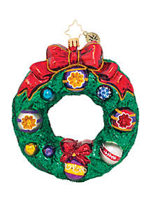 Forest Wreath Ornament