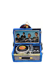Beatles Record Player Ornament