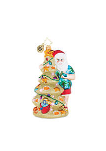 Christmas In The Sand Ornament