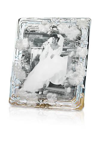 Crystal Clear Natalie Floral 8x10 Glass Frame | belk