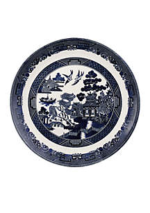Willow Blue Dinner Plate 10.75-in.