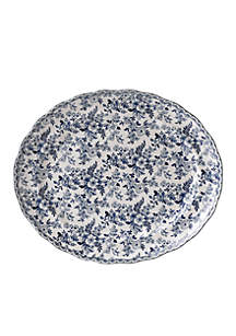 Devon Cottage Dinnerware Oval Platter