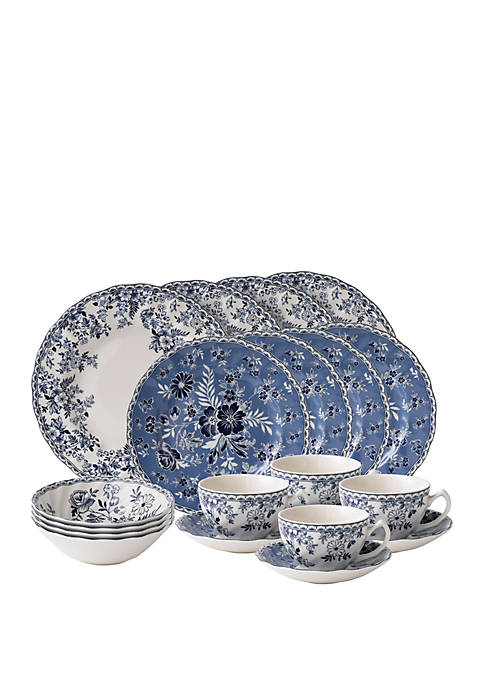 Johnson Brothers 20 Piece Devon Cottage Dinnerware Set
