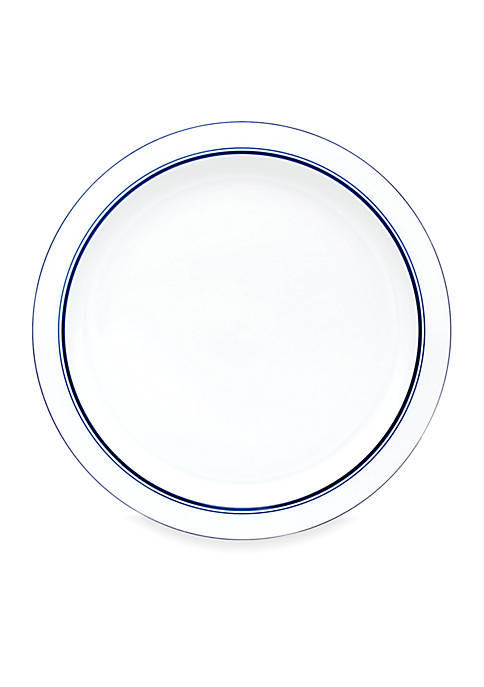 Christianshavn Blue China Round Platter - Online Only
