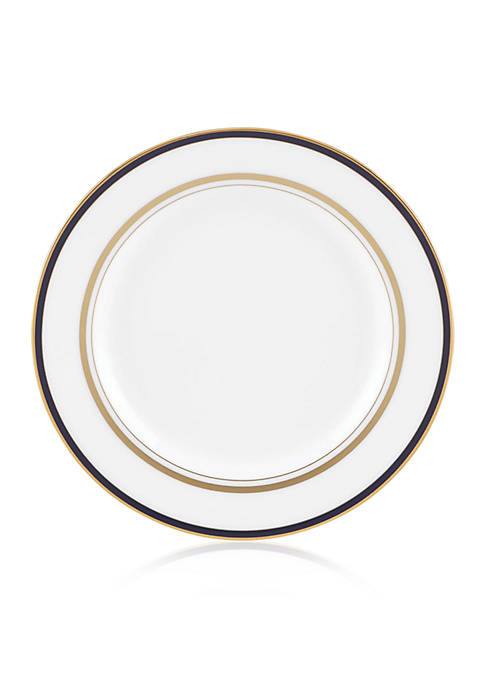 Library Lane Navy Bread & Butter Plate 6-in.
