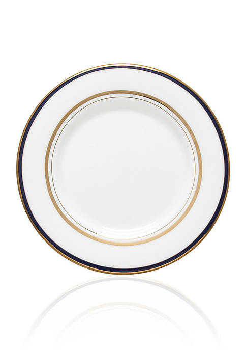kate spade new york® Library Lane Navy Saucer