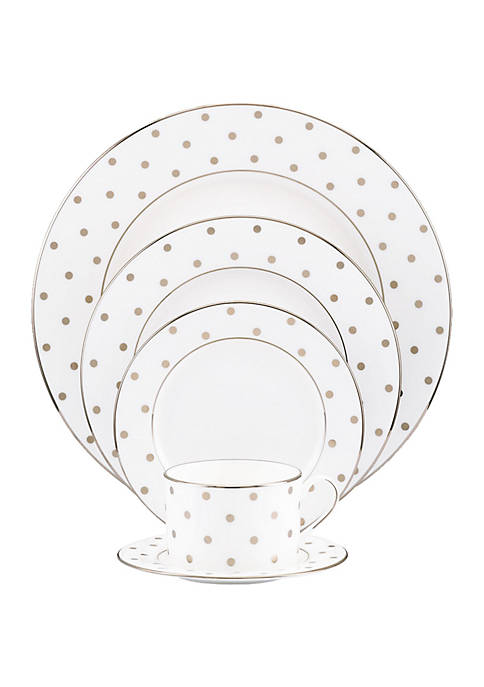 kate spade new york® Larabee Road Platinum Dinnerware