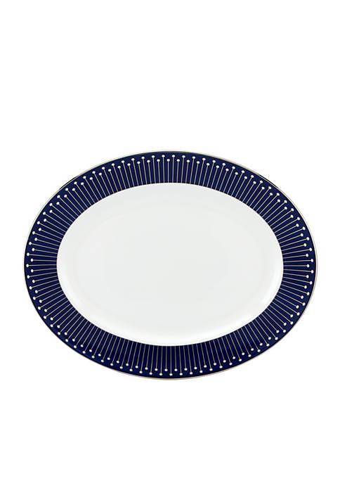 kate spade new york® Mercer Drive Oval Platter