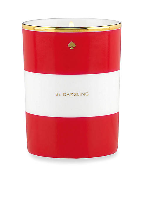 kate spade new york® Be Dazzling Red Candle