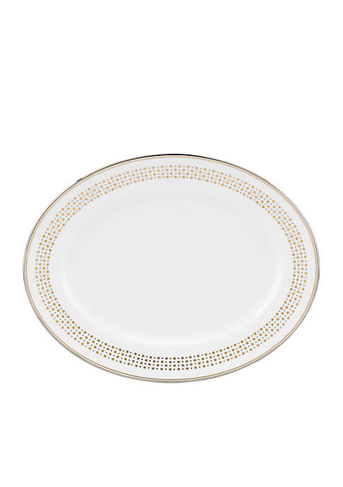 kate spade new york® Richmont Road Oval Platter