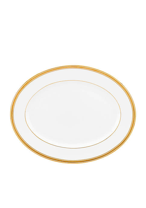 kate spade new york® Oxford Place Oval Platter