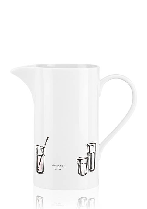 kate spade new york® Cause A Stir Pitcher