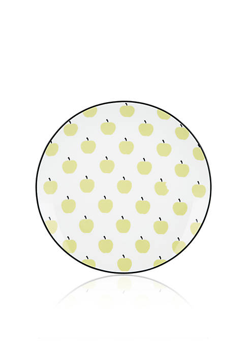 kate spade new york® Wickford Accent Apple Plate