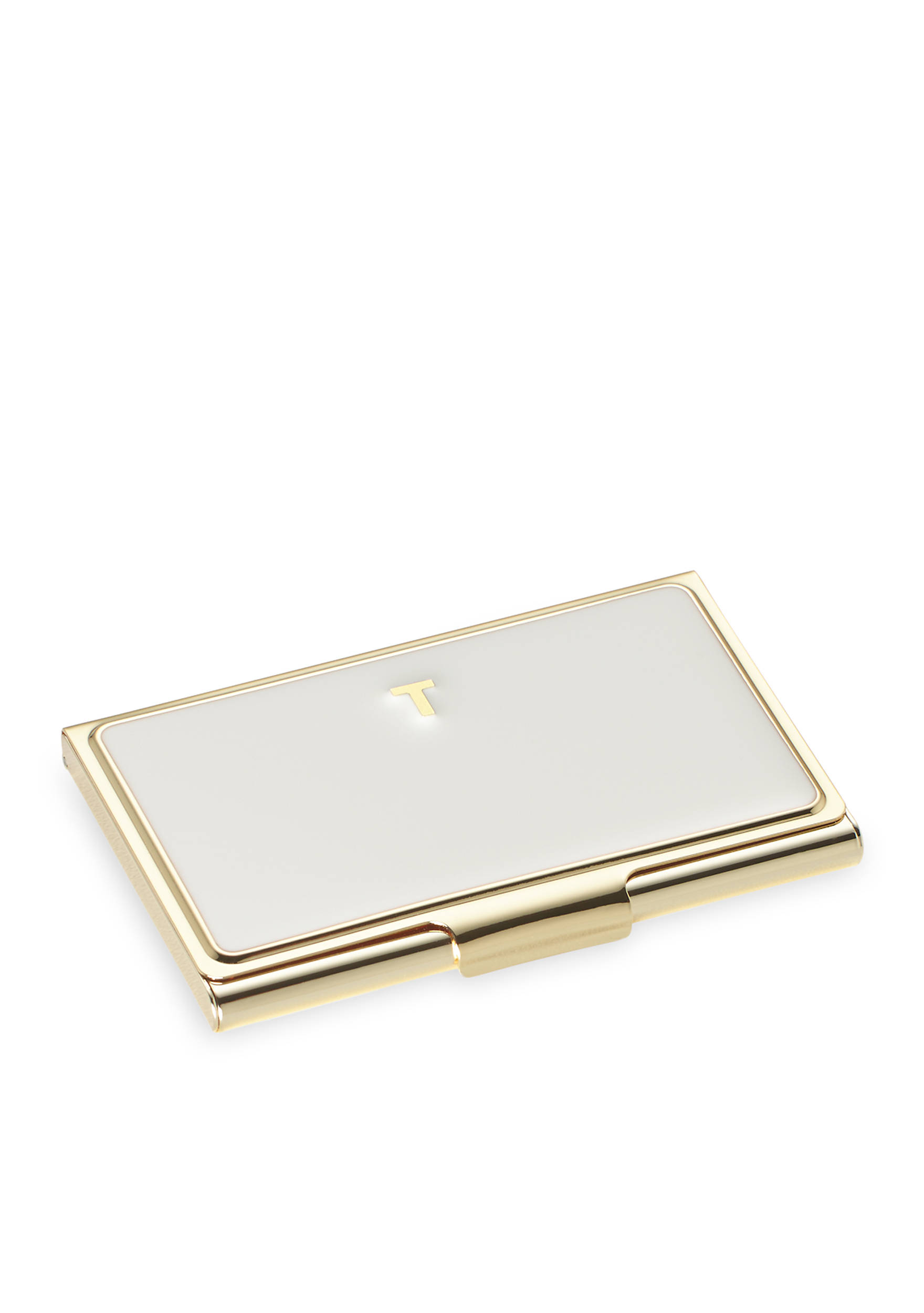 kate spade new york® One in a Million Initial Business Card Holder ...